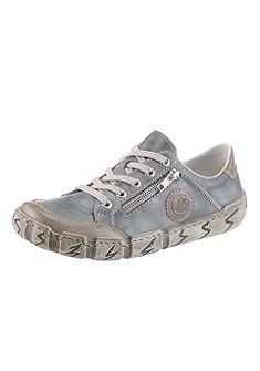 Rieker fűzős bőr cipő különleges talppal