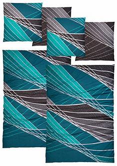 Posteľná bielizeň, Auro Hometextile »Pablo« moderné mreže