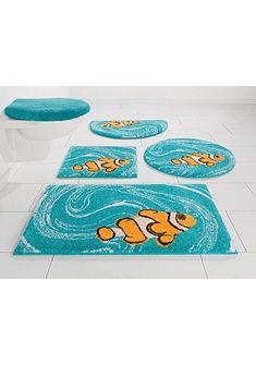 Fürdőszobaszőnyeg, kerek, »Nemo«, magasság 20 mm, csúszásgátló hátoldal