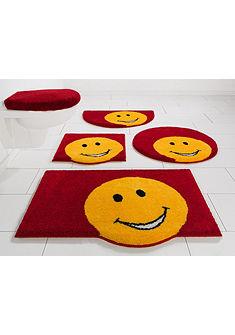 Fürdőszobaszőnyeg, kerek, »Smile«, magasság 20 mm, csúszásgátló hátoldal