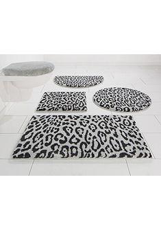 Koupelnový kobereček, kruh »Kaan« výška 20 mm, protiskluzová zadní strana