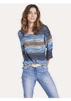 B.C. BEST CONNECTIONS by heine Vzorovaný pulovr s kulatým výstřihem