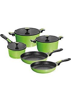 STONELINE® Kuchyňské nádobí, litý hliník, indukční (8-dílné)