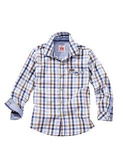 Spieth & Wensky Dětská krojová košile v károvaném designu