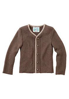 Turi Landhaus Krojový dětský svetr s lemy v kontrastní barvě