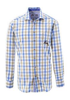 OS-Trachten Krojová košile s potiskem jelena