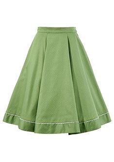Turi Landhaus Krojová sukně, puntíkovaný design