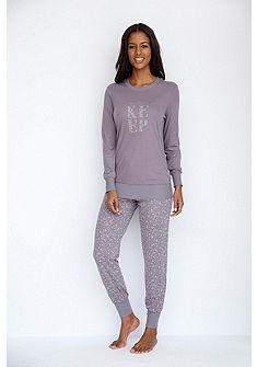 SCHIESSER Vzorované pyžamové kalhoty