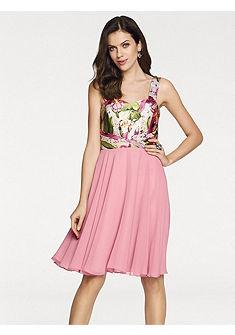 ASHLEY BROOKE by heine Koktejlové šaty s květinami