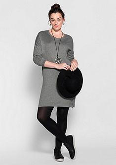 sheego Trend Úpletové šaty
