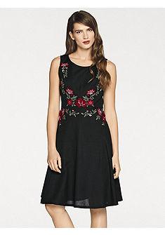 ASHLEY BROOKE by heine vyšívané květinové šaty