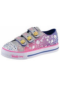 Skechers Kids Detské topánky na suchý zips »Twinkle Toes Shuffles Expressionista«
