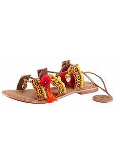 Vero Moda Rímske sandále s krásnou etno výzdobou