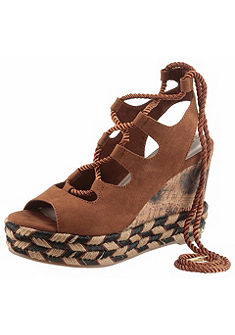 Tamaris Klinové sandále