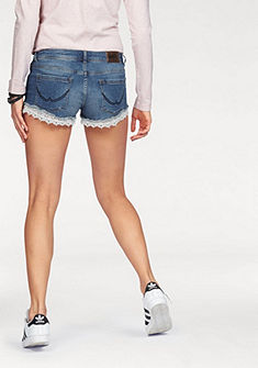 Superdry Riflové šortky »LACE TRIM HOT SHORT«