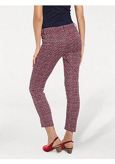 ASHLEY BROOKE by heine Formující vzorované kalhoty