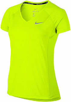 Nike Športové tričko »WOMEN NIKE DRY MILER TOP V-NECK«