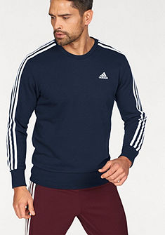 adidas Performance Mikina »ESSENTIALS 3 STRIPES CREW FRENCH TERRY«