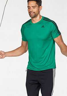 adidas Performance Sportovní tričko »DESIGN TO MOVE TEE 3 STRIPES«