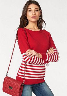 Melrose csíkos pulóver