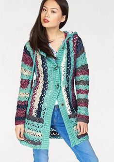 khujo Dlouhý pletený svetr »Laddy«