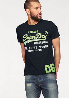 Superdry Tričko »SHIRT SHOP FADE TEE«