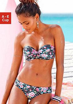 Merevítős bandeau bikini, sunseeker