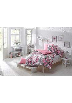 Oboustranné ložní prádlo, My Home Selection »Flower« s květinovým potiskem
