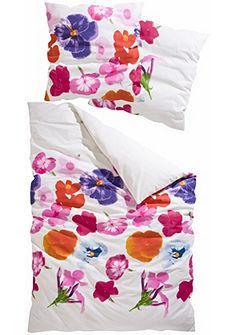 Posteľná bielizeň, My Home Selection »Fancy« s kvetinovou potlačou