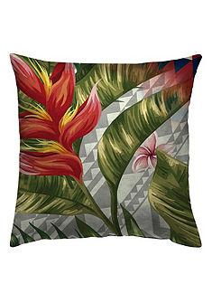 Povlak na vankúš, Zebra »Jungle Style« kvety a listy