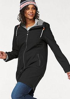 Polarino Nepromokavý kabát s podšívkou z fleecoviny