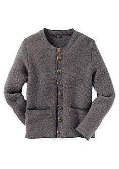 Luis Steindl Krojová obrace pletená bunda