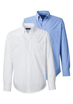 Highmoor Krojové košile v balení po 2 kusech s nastavitelnou manžetou