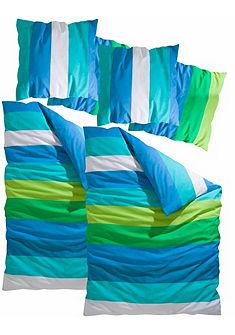 Ložní prádlo, my home »Bura« s křiklavými barevnými pruhy