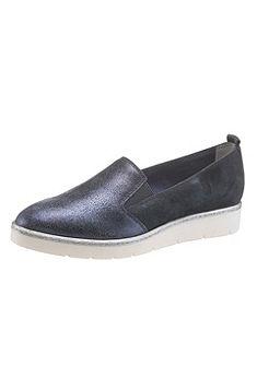 Tamaris velúrbőr slip on cipő Touch IT rezgéscsillapítással