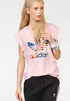 adidas Originals Tričko »FLORALITA BF ROLL UP TEE«