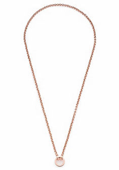 JEWELS BY LEONARDO charm nyaklánc »Pea roségold Darlin's, 016304, 016305«