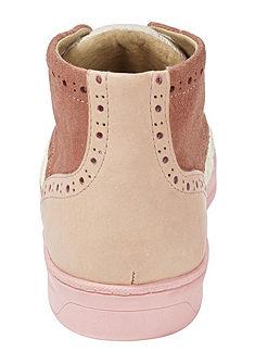 Heine rövid szárú steppelt fűzős cipő