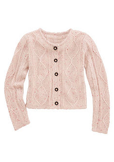BONDI Krojový dětský pletený svetr s originálním vzorem
