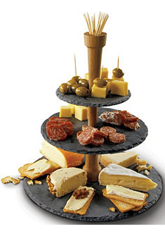 BOSKA Holland Cheese Tower®, 3 lépcsős, agyag