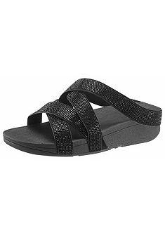 FitFlop Pantofle »Slinky Rokkit Criss-Cross Slide«