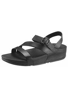 FitFlop Klinové sandále »The Skinny Z-Cross Sandals«