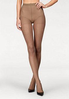 LASCANA Punčochové kalhoty 20 DEN, krajkové kalhotky