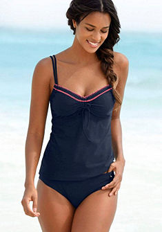 s.Oliver RED LABEL Beachwear merevítős bikini horgolt szegéllyel