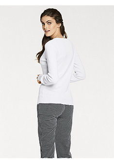 PATRIZIA DINI by Heine kötött pulóver selyemmel