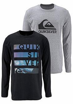 Quiksilver Tričko s dlouhými rukávy »DP LONGSLEEVE« 2 ks