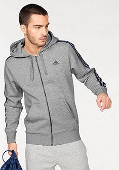 adidas Performance kapucnis hosszú ujjú póló »ESSNETAILS 3S FZ HOOD FLEECE«