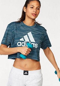 adidas Performance Sportovní tričko »AEROKNIT CROP TEE«