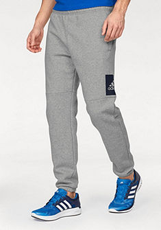 adidas Performance Kalhoty na jógu »ESSENTIALS BOX LOGO TAPERED PANT FLEECE«