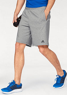 adidas Performance Krátke nohavice »ESSENTIALS RAW HEM FRENCH TERRY SHORT«